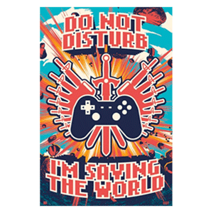 Poster Saving the World