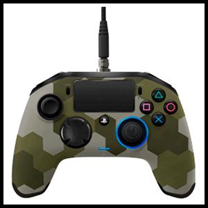Controller Nacon Revolution Pro Camo Green -Licencia Oficial Sony- (REACONDICIONADO)