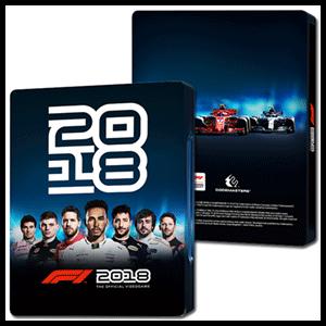 F1 2018 - Caja metálica
