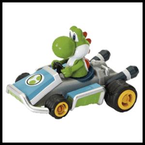 Coche Retrofricción Mario Kart 8: Yoshi
