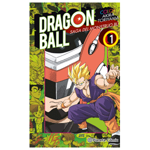 Dragon Ball Color Boo nº 01