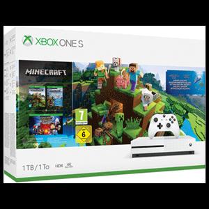 Xbox One S 1TB + Minecraft