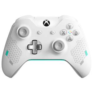 Controller Inalámbrico Microsoft Sport White Special Edition