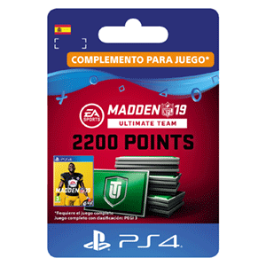 Madden NFL 19 Ultimate Team 2200 Points Pack PS4