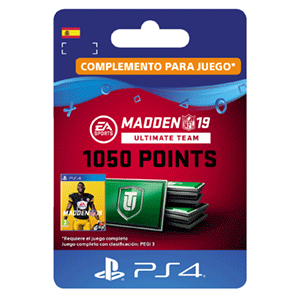 Madden NFL 19 Ultimate Team 1050 Points Pack PS4