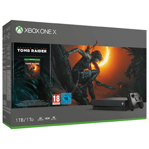 Xbox One X + Shadow Of The Tomb Raider
