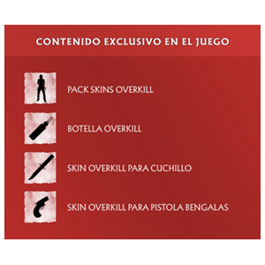 DLC Contenido exclusivo Overkill WD PS4