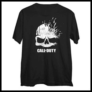 Camiseta Call of Duty WWII Xploding Skull Talla M (REACONDICIONADO)