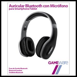 Auriculares Bluetooth con Micrófono GAMEware (REACONDICIONADO)