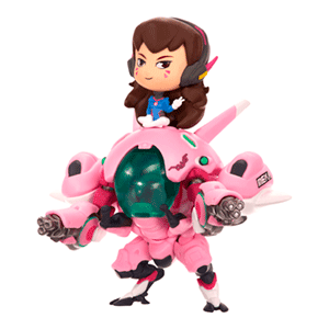 Figura Cute but Deadly: D.Va con Mekka