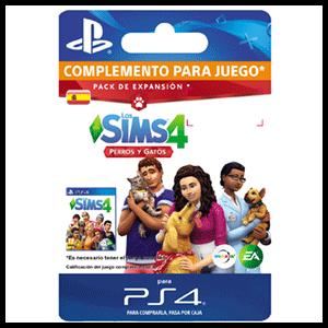 The Sims 4: Gatos y Perros PS4