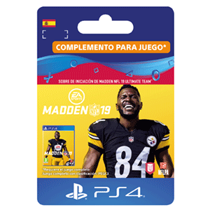 Madden NFL 19 Ultimate Team Starter Pack PS4