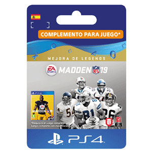Madden NFL 19 Legends Upgrade PS4