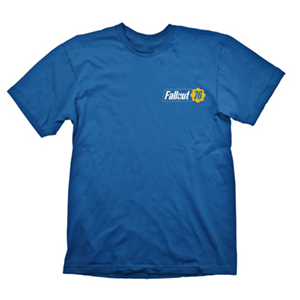 Camiseta Fallout 76 Vault Azul Talla S