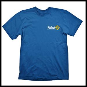Camiseta Fallout 76 Vault Azul Talla M