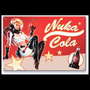 Litografía Fallout: Nuka Cola