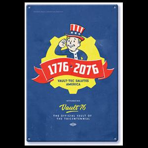 Litografía Fallout: Tricentennial
