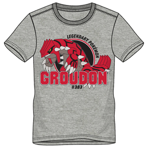 Camiseta Groudon Talla L