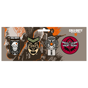 Set de Pins : Call of Duty Black Ops 4