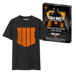 Camiseta Call of Duty: Black Ops 4 Talla L