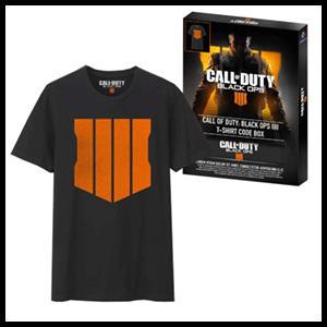 Camiseta Call of Duty: Black Ops 4 Talla XL