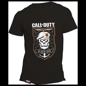 Camiseta Black Ops Logo Rubber CoD:BO4 Talla M