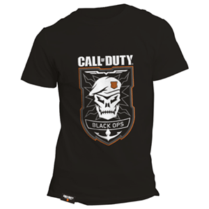 Camiseta Black Ops Logo Rubber CoD:BO4 Talla L