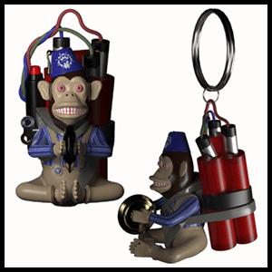 Llavero CoD:BO4 Monkey Bomb