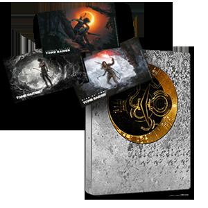 Shadow of the Tomb Raider - Caja metálica