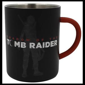 Taza Metálica Tomb Raider