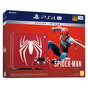 Playstation 4 Pro 1TB Ed. Spiderman + Marvel's Spider-Man