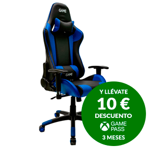 GAMEware Racing PRO Azul-Negro Silla Gaming