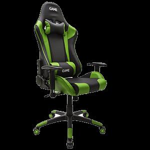 GAME Racing PRO GT300 Verde-Negro Silla Gaming