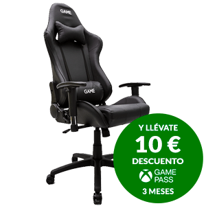 GAMEware Racing PRO Negra Silla Gaming