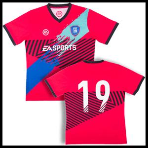 Camiseta Oficial FIFA 19 Visitante Talla JNR
