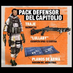 DLC Pack Defensor del Capitolio - The Divison 2