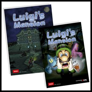 Luigi's Mansion 3DS - Tarjeta lenticular