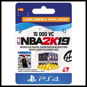 NBA 2K19 15.000 VC PS4
