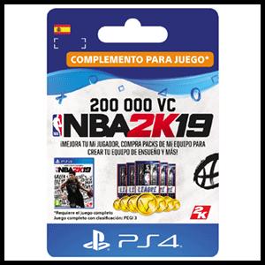 NBA 2K19 200.000 VC PS4