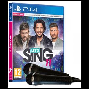 Lets Sing 11 Versión Española + 2 Micrófonos