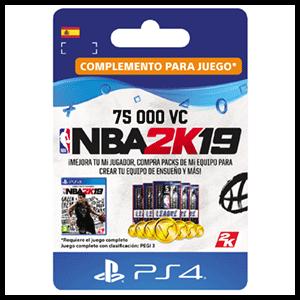 NBA 2K19 75.000 VC PS4