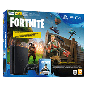 Playstation 4 Slim 500Gb Chassis F + Voucher Fortnite