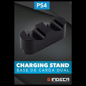 Cargador Dual de mandos PS4 Indeca Gaming