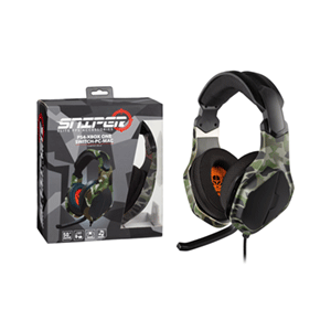 Auriculares Multiplataforma Indeca Sniper PS4-XONE-NSW-PC