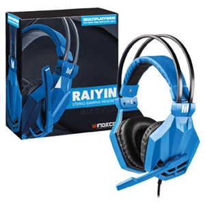 Auriculares Raiyin Azul Indeca Sound PS4-XONE-NSW-PC