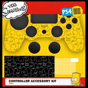 Kit 5 Accesorios mando PS4 The Simpsons Minimal