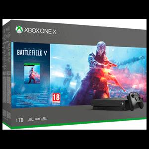 Xbox One X 1TB + Battlefield V