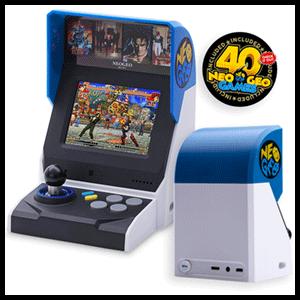 Consola Retro SNK Neo Geo Mini (40 juegos)