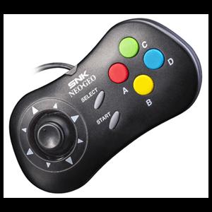 Gamepad Negro para SNK Neo Geo Mini