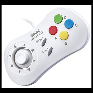 Gamepad Blanco para SNK Neo Geo Mini